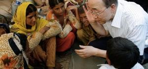 Ban Ki-moon em evento na véspera do Dia Internacional da Mulher