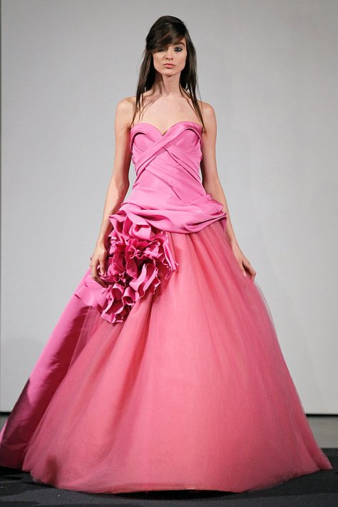 Vera Wang-Pink-fall 2014
