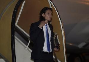Cavani, destaque da seleção uruguaia.