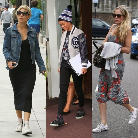 Fashionistas sendo normcore