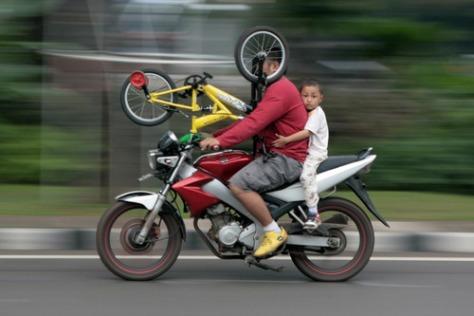 Taking a bike
