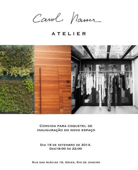 Carol Nasser invitation