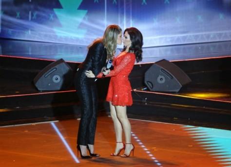 Didi e Tatá quase protagonizaram uma cena de beijo