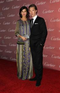 Benedict Cumberbatch_Sophie Hunter fiancee-PSIFF 15