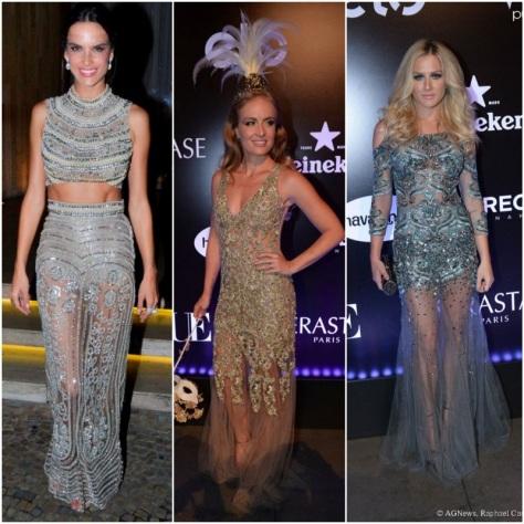 Alessandra Ambrósio, Angélica e Fiorella Mattheis escolheram vestidos Patricia Bonaldi