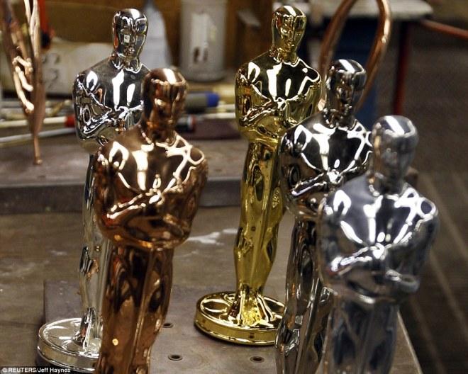 Os cinco metais usados na confecção do Oscar
