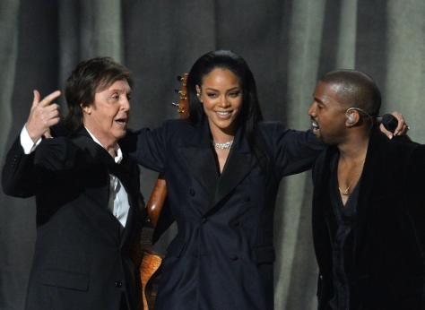 Paul Rihanna Kanye