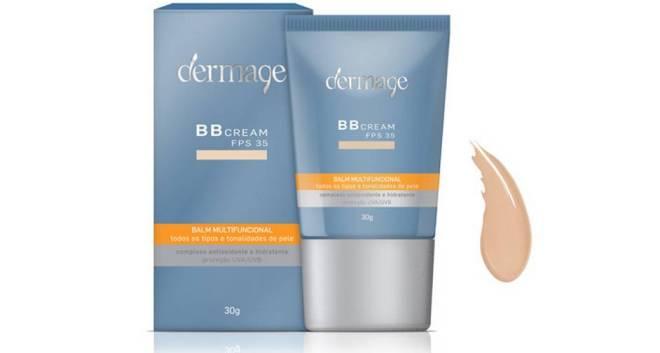 Primeiro BB Cream produzido no Brasil, o produto tem FPS 35, proteção UVA e UVB, que previne queimaduras solares e envelhecimento precoce. Por ser color adapt, pode ser utilizado em todos os tipos de pele.